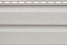 Панель виниловая Альта-Сайдинг светло-серая, 1,83м