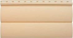 Виниловый сайдинг «Блок-хаус» золотистый BH-03 - 3,10м